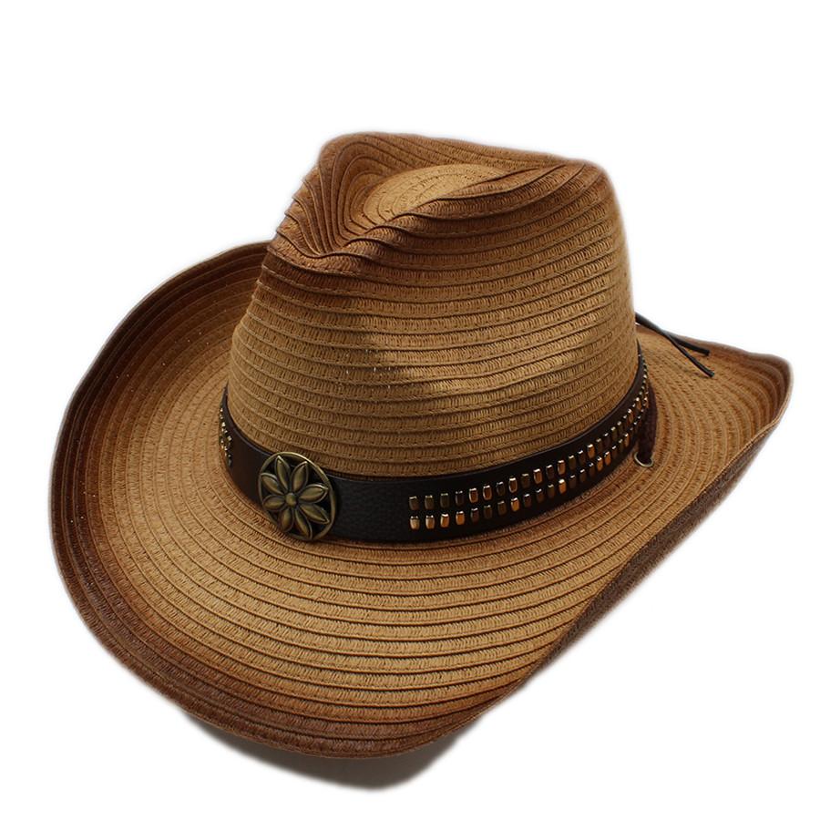 Chapeau Cow-boy été en paille