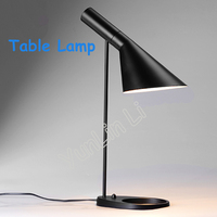American Retro Lamp Scandinavian Home Modern Minimalist Creative Lamp Baghouse Style Office Lamp Bedside Table Lamp