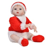 Full silicone 2357cm Reborn babies doll baby reborn white skin dolls bonecas Toys birthday Xmas gifts collection hot sale girls