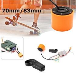 70 millimetri 83 millimetri di Skateboard Elettrico Brushless Motore del Mozzo della Ruota E il Controller Per Il FAI DA TE Motore del Mozzo Elettrico di Skateboard Accessorio