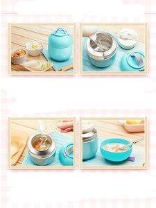 Image 5 - Горячий Ланч бокс, детская посуда, детский изоляционный суп горшок, тушеный чайник, портативная миска из нержавеющей стали, вакуумный контейнер для еды