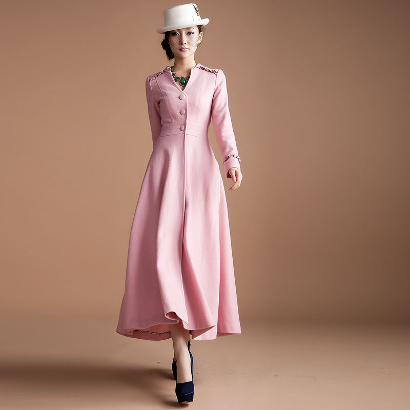 2013 winter women's woolen outerwear elegant X long design ...