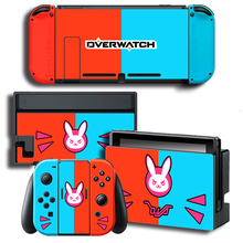 Overwatch Skin Sticker for Nintendo Switch NS Console + Joy-Con + Dock Station