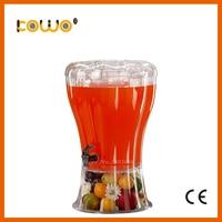 3,5 галлона ясно пище портативный большие пластиковые холодный напиток дозатор напитков