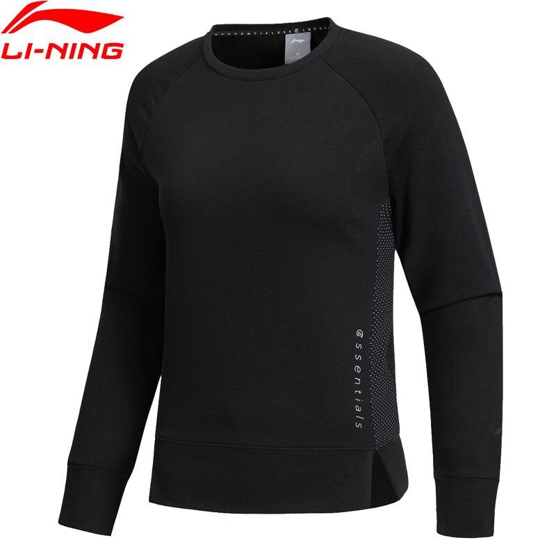 Li-ning Frauen Ausbildung Pullover Komfort 60% Baumwolle 40% Polyester An Becteria Regelmäßige Fit Futter Sport Tops Pullover Awdn256 Www986 Eine VollstäNdige Palette Von Spezifikationen Sport & Unterhaltung