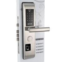 Fingerprint Lock For Home Anti theft Door Lock Keyless Smart Lock With Digital Password RFID Unlocked by APP, Code, Card, Key