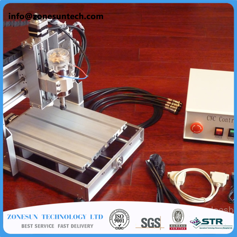 цена SONESUN DIY CNC Router Kit Mini Milling Machine 3 Axis Brass PCB CNC Wood Acrylic Carving Engraving Router PVC Pyrography