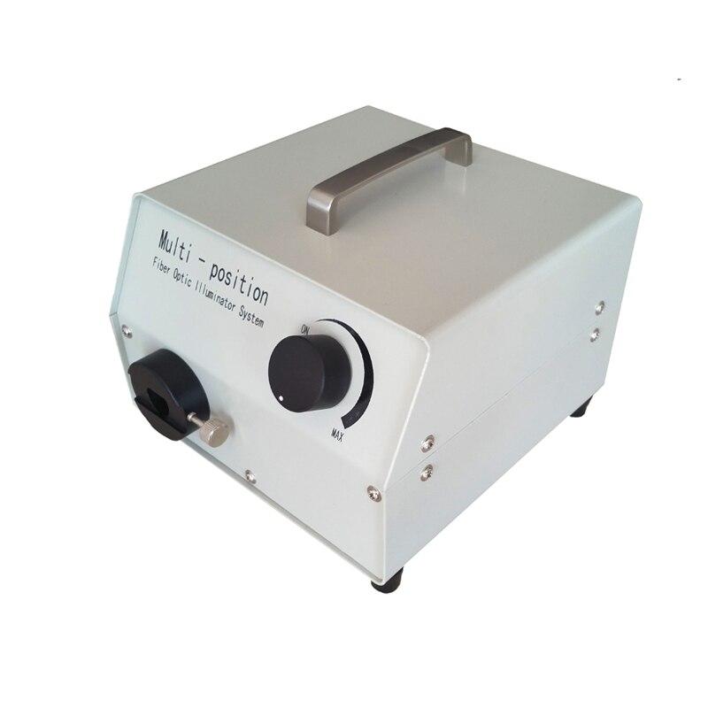 LG-150T Fiber Optic Illuminator, Microscope light, Halogen lamp, Cold light  21V 150W fiber optic 200x microscope pro skit optic viewing scope kit light magnifier