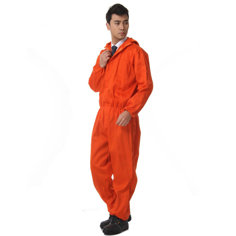 Workplace Overalls Men Safety Protective Coverall Repairman Long Sleeve Jumpsuits Working Uniforms Coveralls Clothes Anti-dust