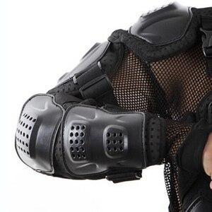 Image 5 - Upbike دراجة نارية درع واقٍ للجسد بالكامل حماية جاكيتات موتوكروس سباق ملابس رسمية موتو ركوب حماة السلاحف جاكيتات S 4XL
