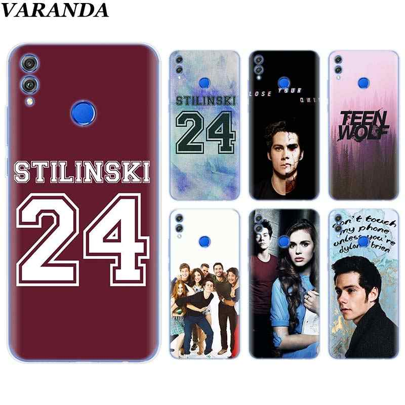 Teen Wolf Stilinski 24 Silicone Soft Case for Huawei Honor 8X 8C 8S 8A 9 10 Lite 20i View 20 Y6 Y7 Y9 2019 Case Coque