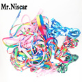 Mr.Niscar10Pair New Pattern Flag Colored Shoe Laces Flat Shoelaces England Style Colored Shoe Laces for Sneakers Length 50-270cm