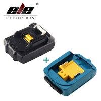 ELEOPTION 18V 2000mAh Li ion Replacement Battery For MAKITA 194205 3 194309 1 BL1815 + USB Power Charger Adapter For Makita