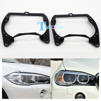 Taochis Car Styling Frame Adapter Module Set DIY Bracket Holder For BMW X5 XDrive 35i 30d