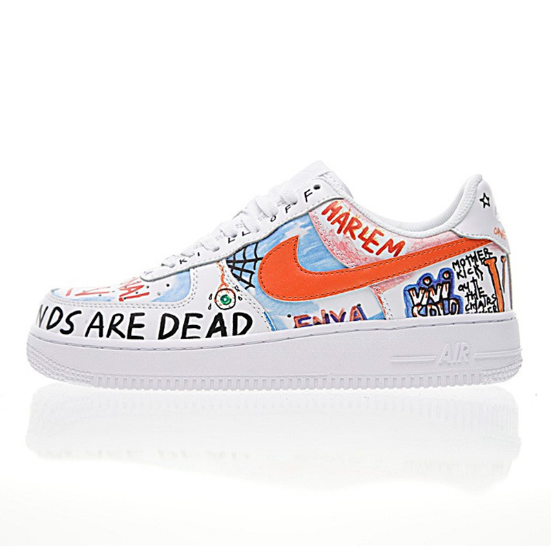 Nike Air Force 1 Sneakers Original New Arrival Authentic NIKE AIR FORCE 1 LOW Men's Skateboarding  Shoes Sport Outdoor Sneakers Good Quality 923088-100