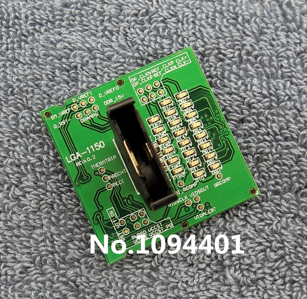 1pcs* Brand New Laptop LGA1150 LGA-1150 Tester CPU Socket Tester Dummy Load Fake Load with LED Indicator desktop cpu 939 socket tester cpu socket analyzer dummy load fake load with led
