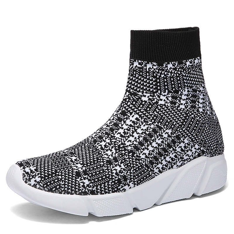 2019 New Style Socks Sneakers For Couples Outdoor Walking Men Sport Running Shoes Black Breathable Mesh Zapatos Mujer Deportivos2019 New Style Socks Sneakers For Couples Outdoor Walking Men Sport Running Shoes Black Breathable Mesh Zapatos Mujer Deportivos