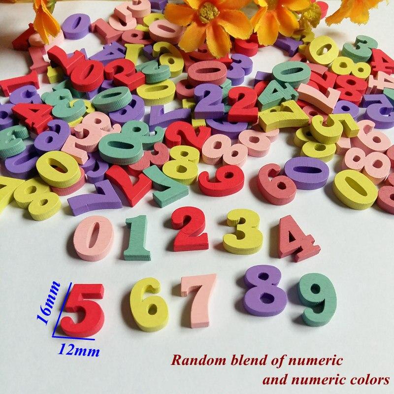 Randomly Mixed 60pcs Letter alphabet nonporous wooden Scrapbooking Carft for decoration Diy Decorativos Botones