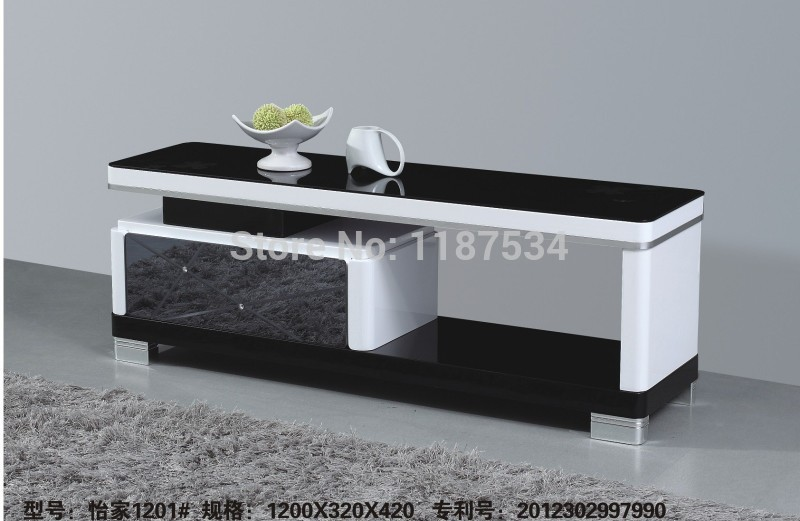 1201 Living Room Wooden Gl Modern Furniture Floor Table