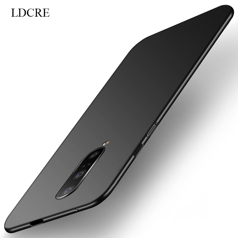 For Cover Oneplus 7 Pro Case Business Ultra Thin PC Slip Protective Hard
