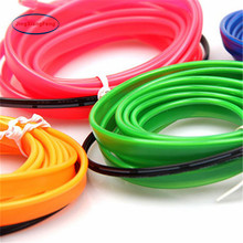 JingXiangFeng Neon Light Dance Party Car Decor Light Neon LED Lamp Flexible EL Wire Rope Tube Waterproof 5M LED Strip top selling el cable rope explorer design clothes led strip neon light stylish luminous costume for carnival new years day decor
