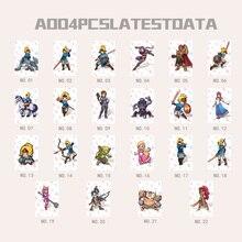 22 Pcs NTAG215 Game Nfc Kaarten Nieuwe 4 Hero Gegevens Tag 20 Hart Wolf Link Voor Zelda Adem Van De wilde Ns Schakelaar