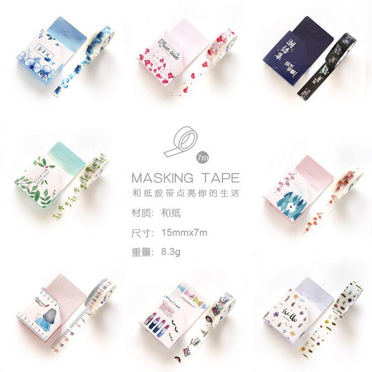True Love Life Washi Tape Adhesive Tape DIY Scrapbooking Sticker Label Masking Tape