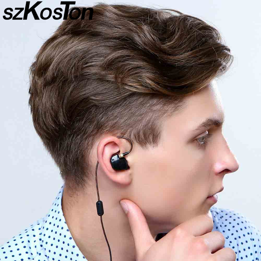 все цены на Headphones original ATR Copper Driver HiFi Headphone with microphone Heavy Bass In Ear Earphone Foam Eartips for PC Mp3 Phone онлайн