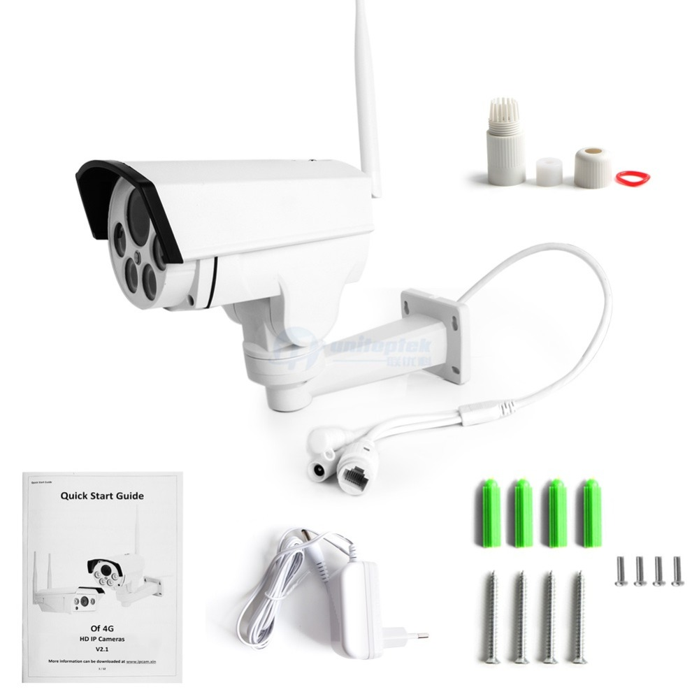 Image 5 - 1080P PTZ Camera Wi FI 3G 4G SIM Card Camera Wifi Bullet Camera Outdoor Wireless IR 50M 5X 10X Zoom Auto Focus Lens CCTV Cam-in Surveillance Cameras from Security & Protection