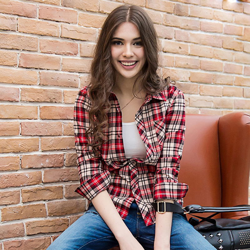 Shop for women s plaid shirt at fluctuatin.gq Free Shipping. Free Returns. All the time.