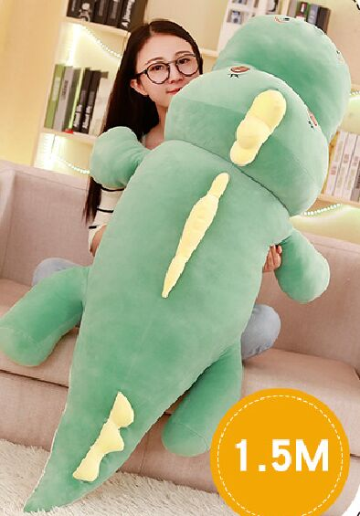 huge 150cm cute cartoon dinosaur plush toy down cotton soft doll sleeping pillow Christmas gift b1497 huge 120cm cute cartoon dinosaur plush toy down cotton soft doll hugging pillow christmas gift b1490