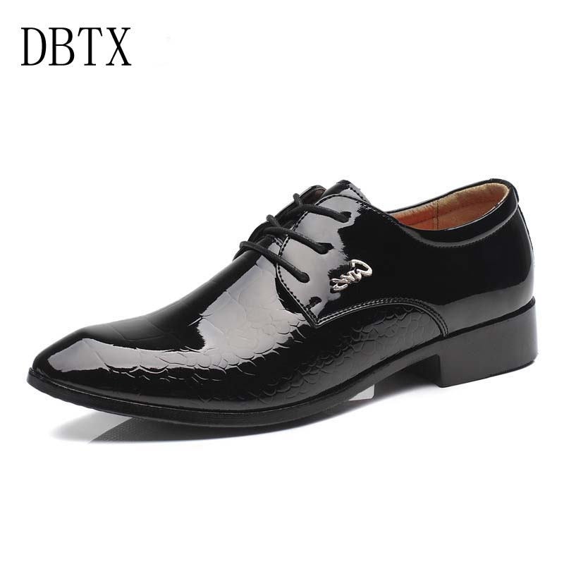 Men Dress Shoes Fashion Patent Leather Formal Snake Skin Leather Pointed Toe Bullock Oxfords Shoes Men,Lace Up Designer Luxury lttl mixed color men dress shoes fashion pointed toe oxfords shoes for men lace up designer leather shoes men formal shoes