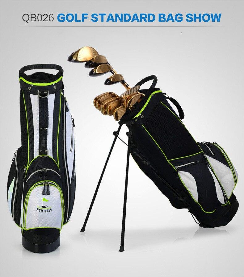 Les fabricants ont adapté le nouveau sac de support de golf de PGM les hommes et les femmes tiennent l'édition portative d'ultraportabilité - 4