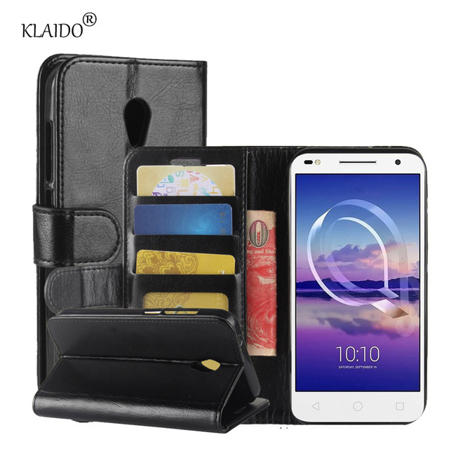 brand new 6c1d6 2a9f7 US $3.98 |For Alcatel U5 HD Case Leather Case For Alcatel U 5 HD Leather  Cover Phone Case For Alcatel U5 HD Phone Bag-in Wallet Cases from  Cellphones ...