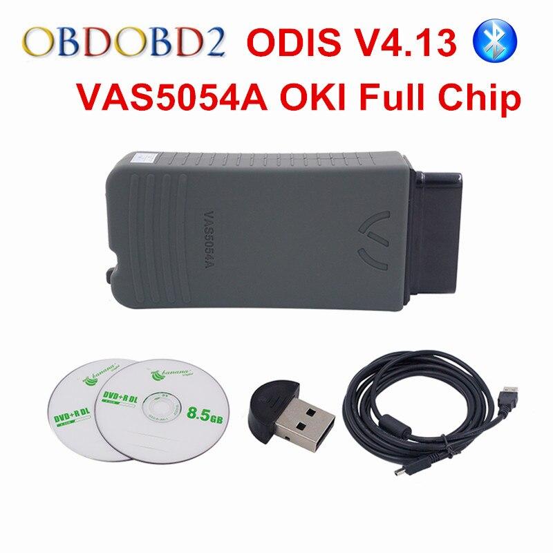 Prix pour VAG Série VAS 5054A Fulll Puce ODIS V4.13 Multi-Langue VAS5054A Soutien UDS Protocole Bluetooth VAS 5054 Pour VW/Audi