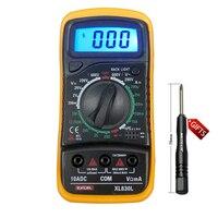 Digital Multimeter Volt Meter Ammeter Ohmmeter OHM Tester XL 830L EXCEL B0215