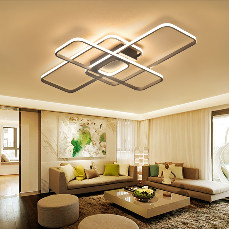Led ceiling lights modern living room dimming remote control bedroom dining room lighting home modern led round ceiling lights living room bedroom dining study warmth lighting remote control porch ceiling lamp za fg68