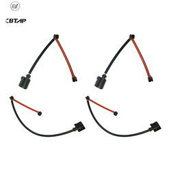 BTAP 4 PCS Front 7L0907637 Rear 7L0907637C Brake Pads Sensor For AUDI Q7 PORSCHE CAYENNE VW TOUAREG German Specification New