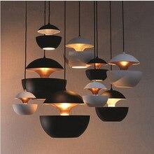 Классические лампы алюминиевые подвесные светильники диаметр 25 см яблоко лампа ресторан кафе-бар столовая ПРИВЕЛО подвесной светильник