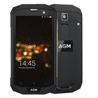 A8 5.0 cal 4G LTE FDD AGM Dual SIM IP68 Wytrzymały Telefon komórkowy Android 7.0 Quad Core 13.0MP 4050 mAh Wsparcie Bluetooth NFC OTG