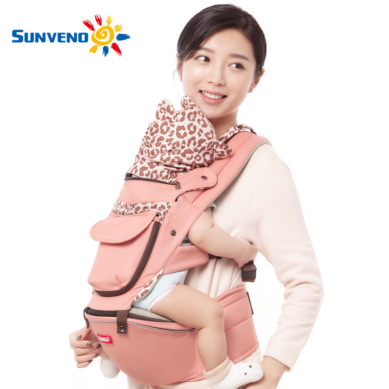 ФОТО Sunveno 2017 New Design Fashion Baby Carrier Hipseat Carrier Multifunctional Baby Waist Stool Baby Slings for Baby 0-36M