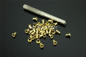 Image 3 - 200PCS M3*3/M3*4/M3*5/M3*6 Rivet Hollow Copper DIY For 0.5mm~5mm Board Free Shipping