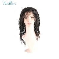 Али Фуми queen hair натуральные продукты Цвет глубокая волна бразильский Волосы remy Синтетические волосы на кружеве человеческих волос парики 130