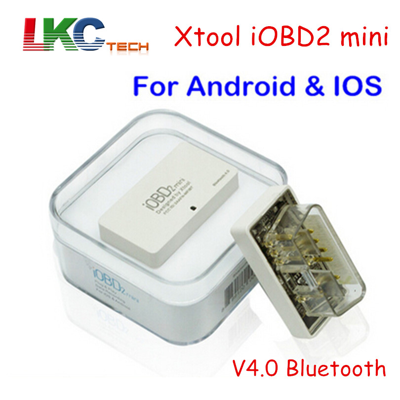 2018 High Quality XTOOL IOBD2 MINI V4.0 Bluetooth Support IOS/Android OBD2 Car Code Reader Scanner same As ELM327