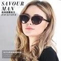 Женские солнцезащитные очки Большие солнцезащитные очки кадр оптических оправ моды очки близорукость может установить оптический рецепт объектив 8527