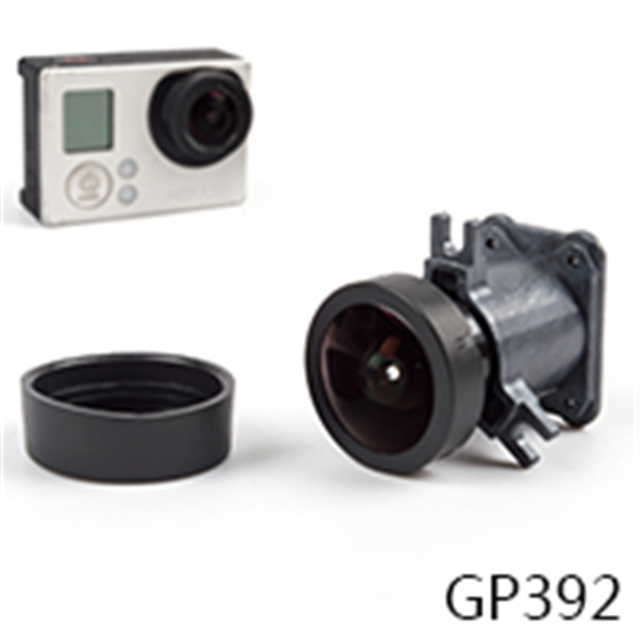Action Camera 150 wide-angle Lens Replacement For GoPro 4 Go Pro 3+ GoPro 3 Lens Mount 12 Million Pixels GP392
