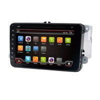 New 2 DIN 8 Inch TFT Capacitive Touch Screen Original Factory Style Car Radio For VW
