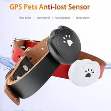 GPS Mini Pets Tracking Sensor IP67 Waterproof Dust-proof Outdoor Security Anti-lost Alarm Detection Smart Tracker for Dog Cat(China)