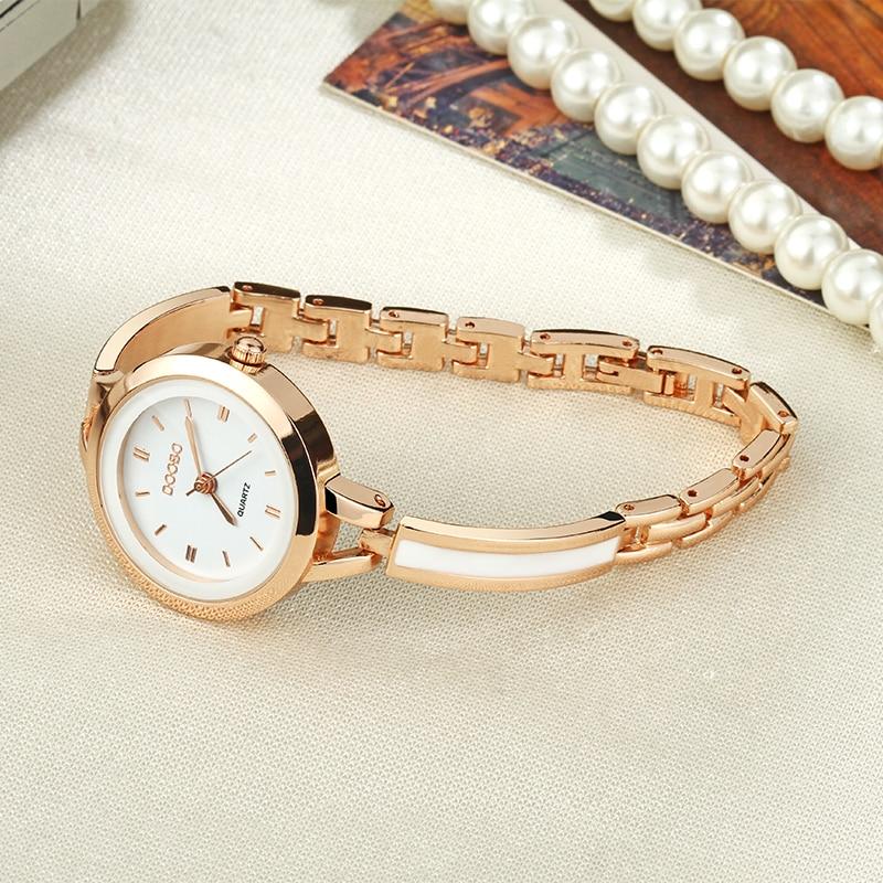 Lyxiga Kvinnor Klocka Berömda Märken Guld Mode Design Armbandsur - Damklockor - Foto 6