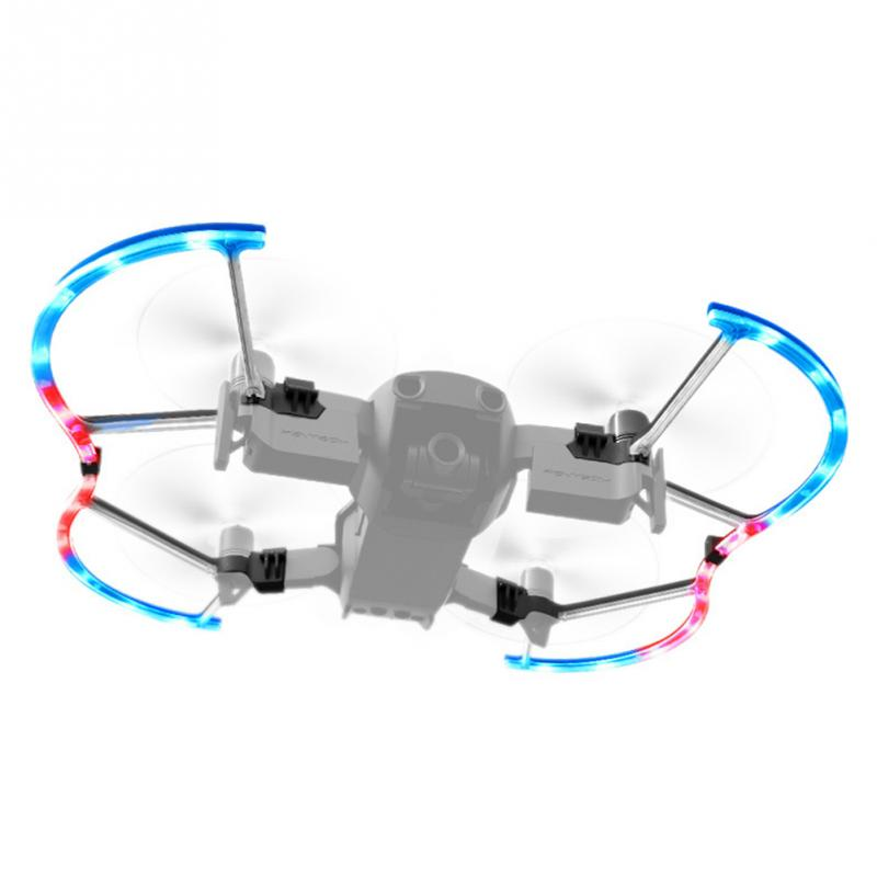 цена на 1set LED Propeller Guard Protective Accessory Anti-collision LED Colorful Light Propeller Mode For Air Drone #0821